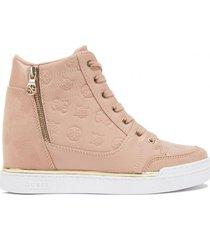 zapatilla footwear gwfigz-a pimll rosado guess