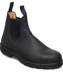bl warm & dry range shoes chelsea boots svart blundst