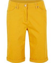 bermuda elasticizzati modellanti (giallo) - bpc bonprix collection