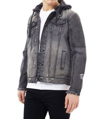 chaqueta brave soul gris - calce regular