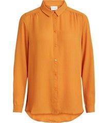 gul vila vilucy l/s button shirt bluser