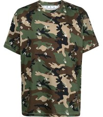 camouflage volledig t-shirt