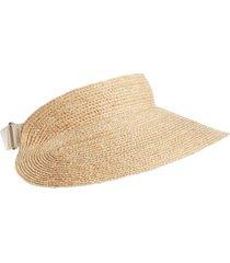 women's helen kaminski classic raffia visor -