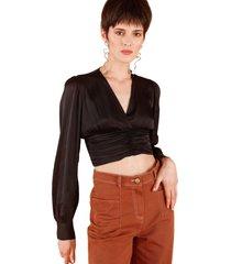 blusa alessia negro caro criado