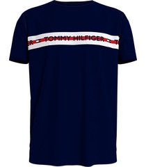 tommy hilfiger t-shirt logo - donkerblauw