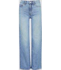 flare fit freja jeans - ljusblå