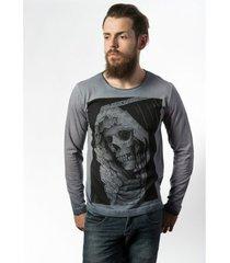 camiseta skull lab