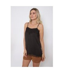 regata alcinha the style box base rendada alpaca feminina