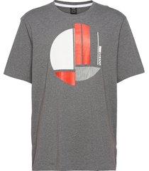 tee 1 t-shirts short-sleeved grå boss