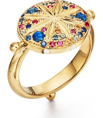 women's temple st. clair sorcerer diamond & sapphire ring