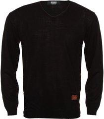 sweater negro redskin escote v