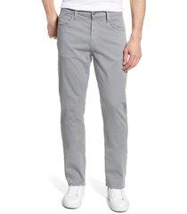 mavi jeans matt relaxed fit twill pants, size 40 x 28 in shark skin twill at nordstrom