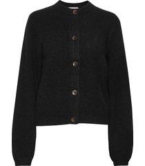 ezio sweater stickad tröja cardigan svart stylein