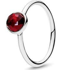 anel gota de rubi sintetico - rubi