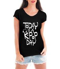 blusa criativa urbana kpop day blusa music t shirt