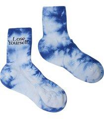 x peter saville lose yourself' socks