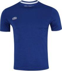 camiseta olympikus basic - masculina - azul escuro
