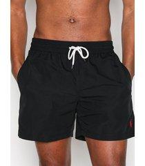 polo ralph lauren traveler swim shorts badkläder black