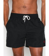 polo ralph lauren traveler swim shorts badkläder black