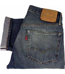 levi's vintage 1954 501z selvedge jeans - pinwheel 50154-0087
