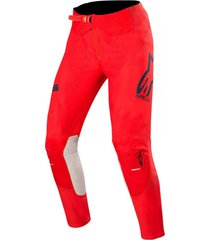 pantalon supertech rojo alpinestars