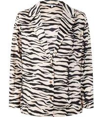 jeanne pyjama top zebra