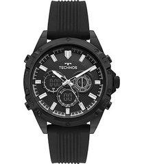 relógio technos anadigi bj3814ac/8p masculino