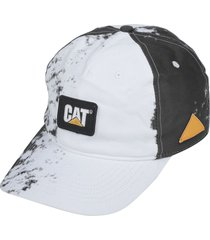 heron preston x caterpillar hats