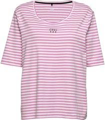 t-shirt short-sleeve t-shirts & tops short-sleeved rosa gerry weber edition