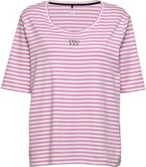 t-shirt short-sleeve t-shirts & tops short-sleeved rosa gerry weber edition