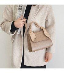 coccodrillo in pelle pu delle donne modello borsa a tracolla massiccia per il tempo libero borsa spalla chic borsa