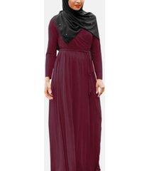 urban modesty women's wonderous jersey maxi dress