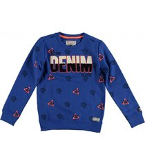 retour sweater electric blue