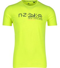 t-shirt neon geel new zealand waitaha