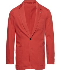o2. the sunbleached sports coat blazer kavaj röd gant