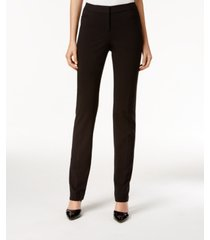 alfani petite modern straight-leg pants, created for macy's
