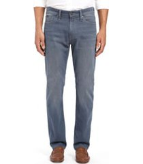 men's 34 heritage courage straight leg jeans, size 42 x 34 - blue