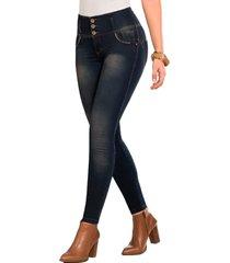 jeans push up monarca jogger azul vintage tyt