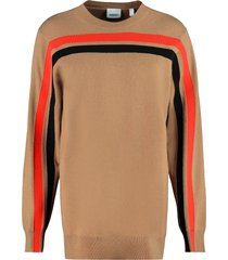 burberry cashmere blend pullover