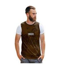 camiseta terra seca rachadura vintage brasil di nuevo masculina