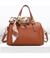 borsa a tracolla da donna vintage vera pelle borsa