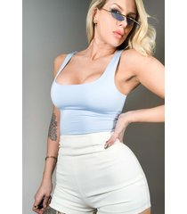 akira paxton double lined tank top bodysuit