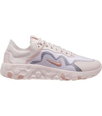 tenis de mujer wmns renew lucent nike - rosa