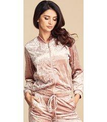 bluza dresowa pink