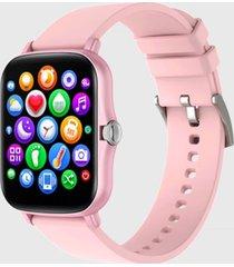 reloj smartwatch kei mia rosado silicona keiphone