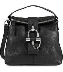 javi leather crossbody bag