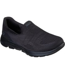 zapatos mujer  go walk 5 negro skechers