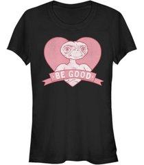 fifth sun e.t. valentines heart banner be good short sleeve t-shirt