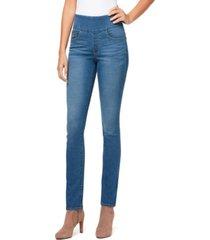 bandolino women's theadora skinny pull on jeans