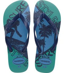havaianas top athletic azul